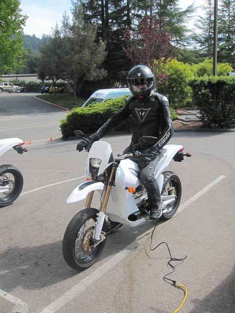 Zero Motorcycles demo day