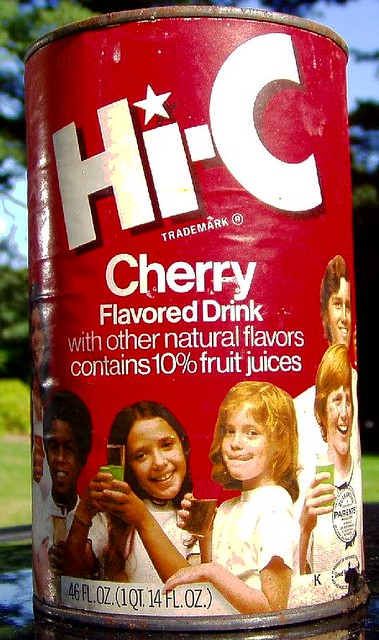 1970s HI-C can   this was with the food cans in the hoarders