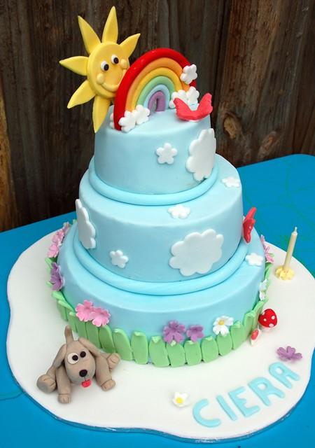 Liezl Delcastillo Rainbow Cake