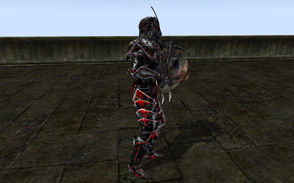 Daedric Face of Terror, Daedric Club, Daedric Tower Shield 2
