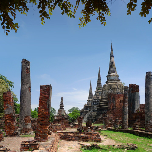 My postcard of Ayutthaya | by B℮n