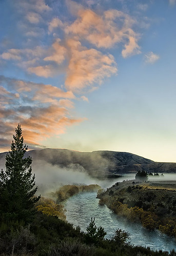 Clutha River sunrise - a thank you!