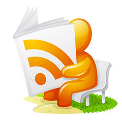 Newspaper RSS Feed Icon | by curiouslee