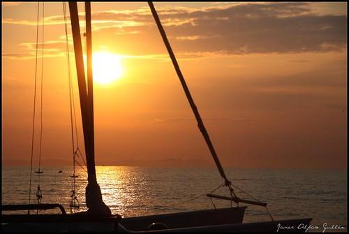 sea sun mer sol sunshine soleil mar amanecer aurora dawns