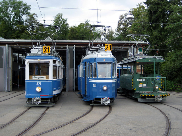 Tram Museum Zürich Museumslinie 21