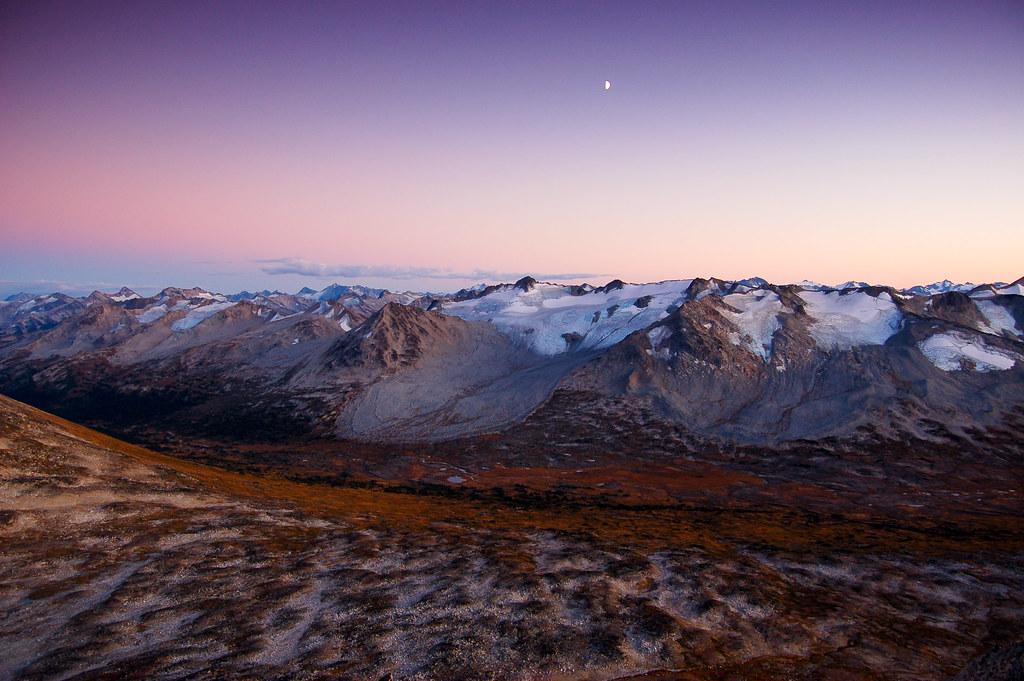 DSC_9103 - Sunset above Slim Pass by RichSo