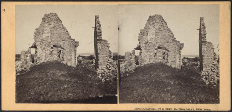The ruins of Fort.