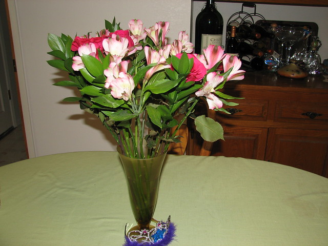 Flowers from the Diesels