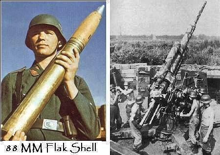 Flak: 88mm shell and gun | William 'Bill' Cornett | Flickr