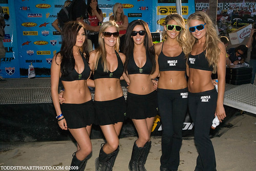 Monster and Muscle Milk Girls