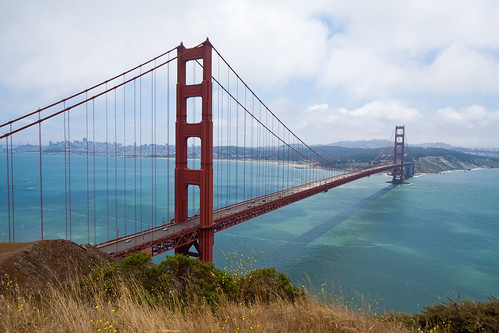 Golden Gate Bridge from the Marin Headlands-4 | by Mike Disharoon