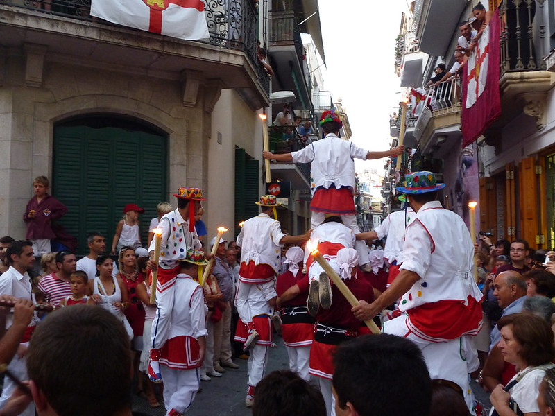 Festa Major Parade procession