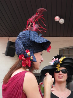 hats on Derby Day