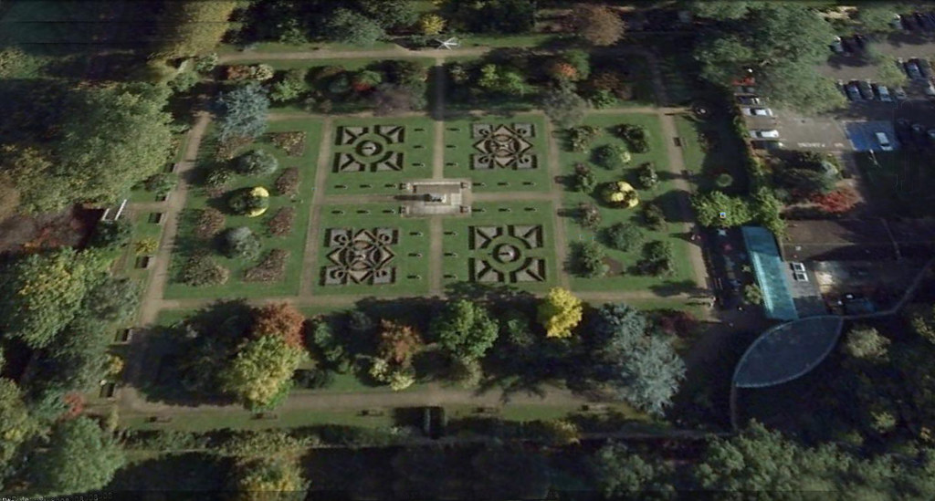 The Walled Garden in Sunbury | Aerial view of the Walled Gar… | Flickr
