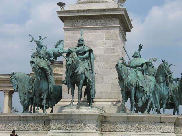 The Millenium Memorial in Heroes Square