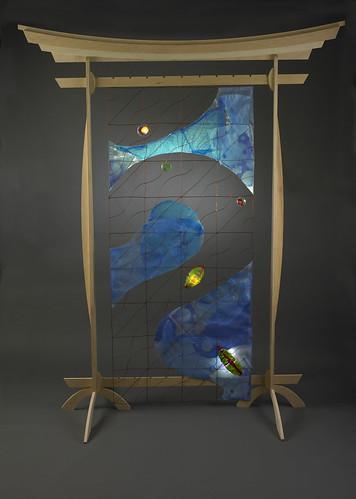 Blue Water Banner | by Corinne Okada Takara