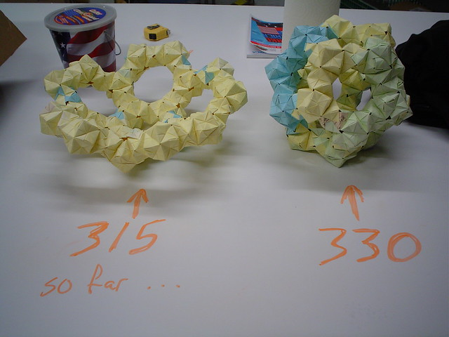 How to Make an origami buckyball flower | Modular origami, Origami ... | 480x640