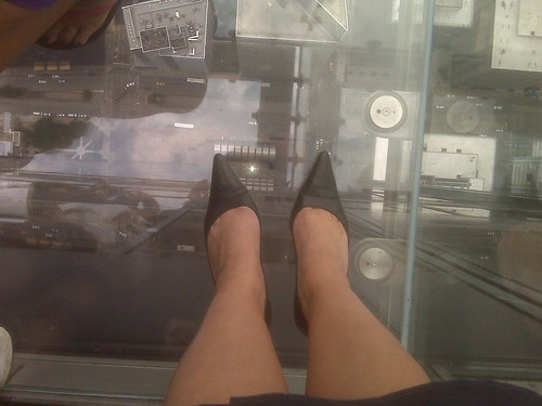 My Feet Standing On The Ledge | by leyla.a