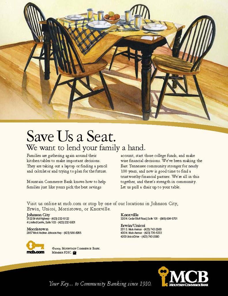 MCB Kitchen Table magazine ad  Needed Writer  Flickr