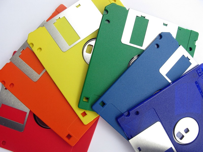 rainbow diskettes, IBM formatted