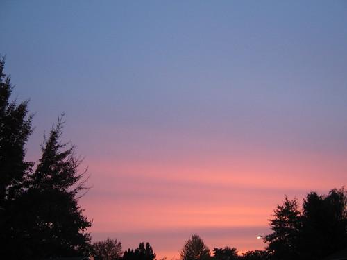 sky sunrise scape