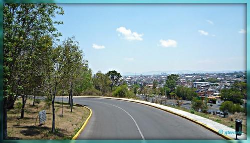 Puebla de los Angeles,Pue.Méxco.Vista desde uno de los fuertes. P1030798