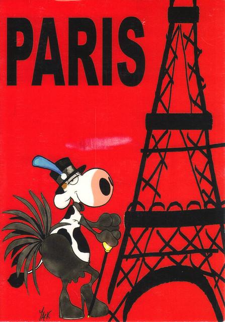 Nouvelles Images Paris Postcard