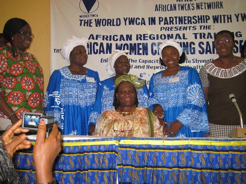 YWCAs Africa Regional Training Institute – Helene Yinda Farewell