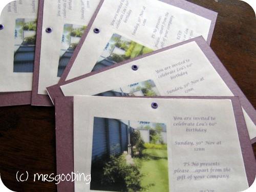 Handmade Invitations | by MrsGooding