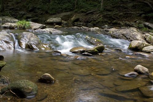 longexposure water creek river nc rocks stream northcarolina cascade wnc southmountainsstatepark burkecounty jacobsfork davidhopkinsphotography ncpedia
