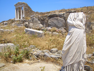Sassy Statue at Delos Ruins | by osiristhe