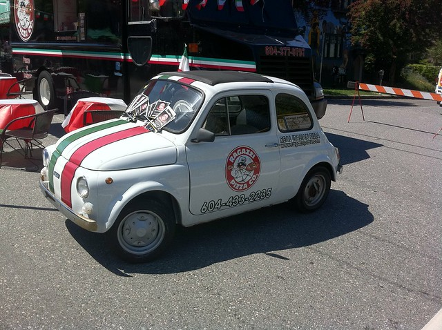 Ragazzi Pizza Co. car during Italian Day 2011 on Commercial Drive