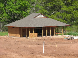 Reconstruction Bath House Mayo River NC SP 9654