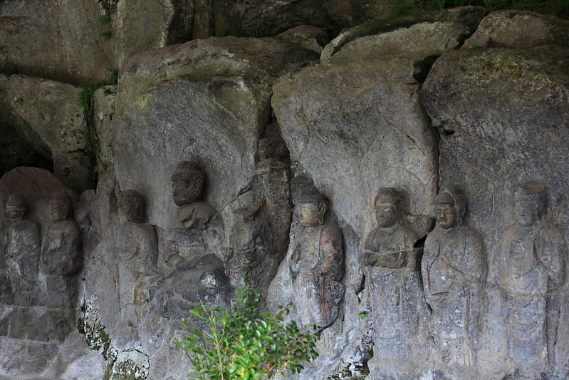 Usuki Stone Buddhas / 臼杵磨崖仏(うすきまがいぶつ)