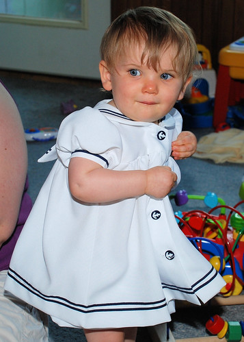Natalie in her Sailor Dress | by Bill and Tina