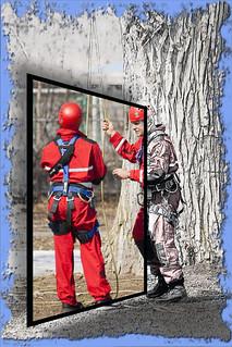 Exercice de pompiers / Fireman exercice
