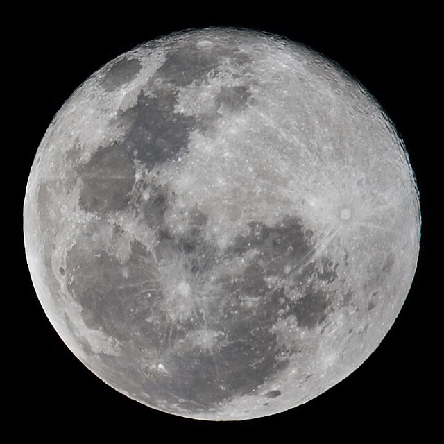There is a Full Moon Out Tonight