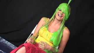 053  Slimed Australian Girl | by iSlime