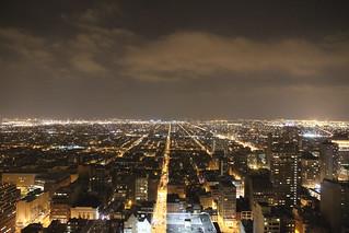 Philadelphia night shot from Lowes