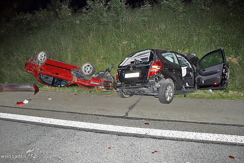 Unfall A3 Idstein