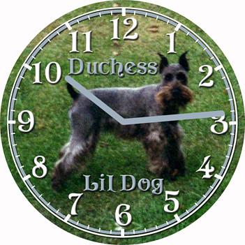 Dutchess Dog Pet Clock | by customclockface