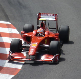 Kimi Raikkonen in Saturday Practice | by Pat Guiney