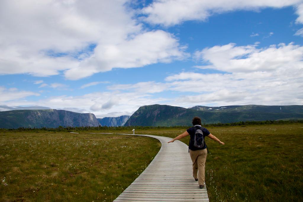 Hiking in Gros Morne National Park