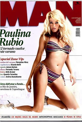 revista man | Paulina Rubio | Flickr
