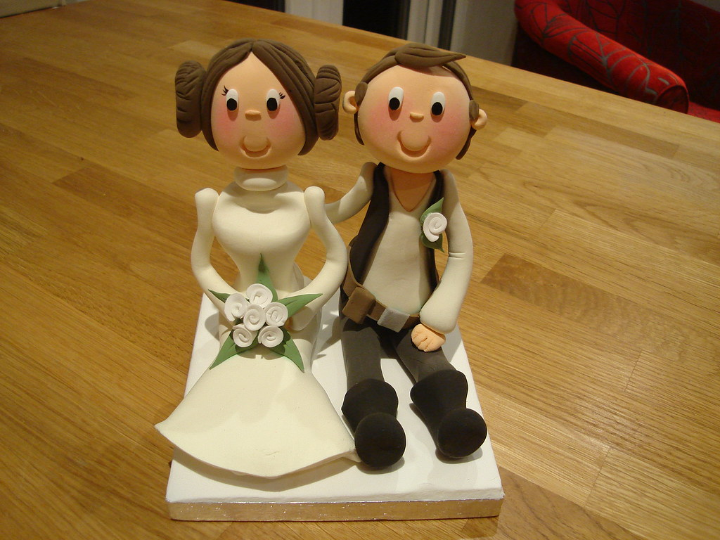 Star Wars Wedding Cake Topper Www Thecakecompanywarrington