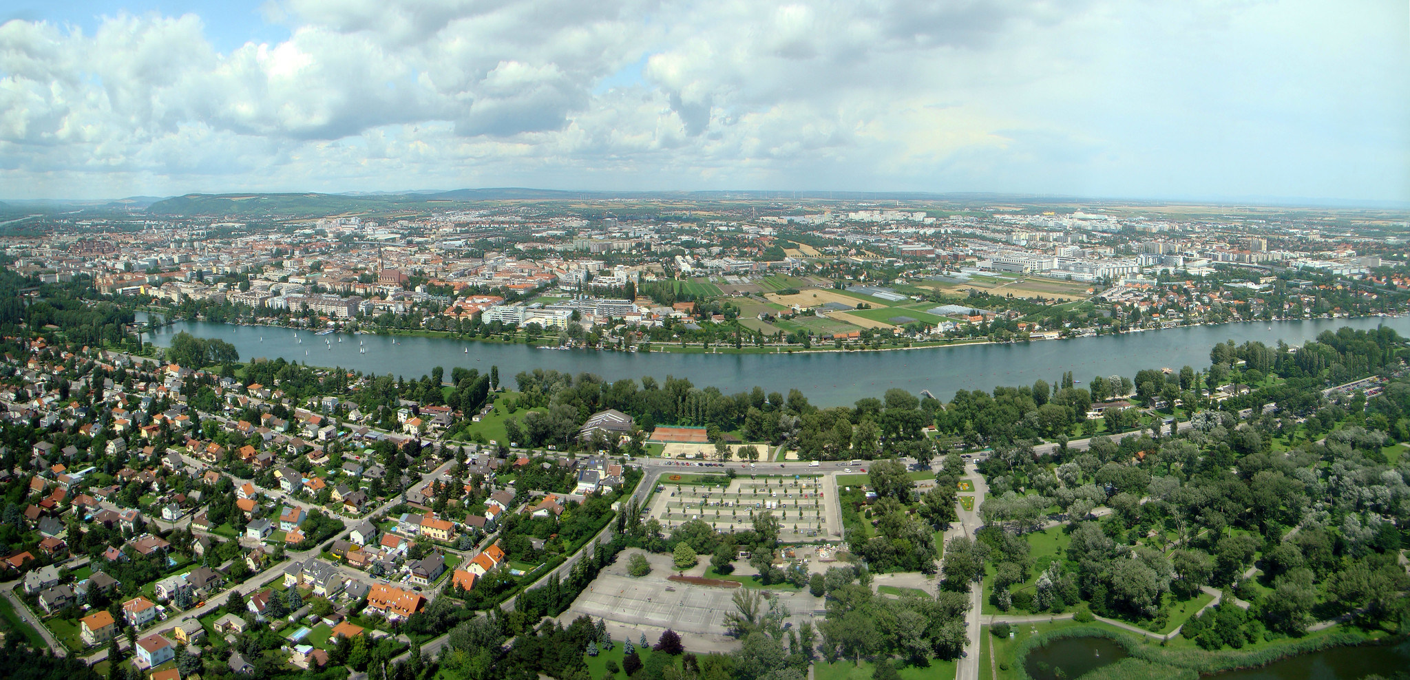 Vista Panorámica de Viena Austria
