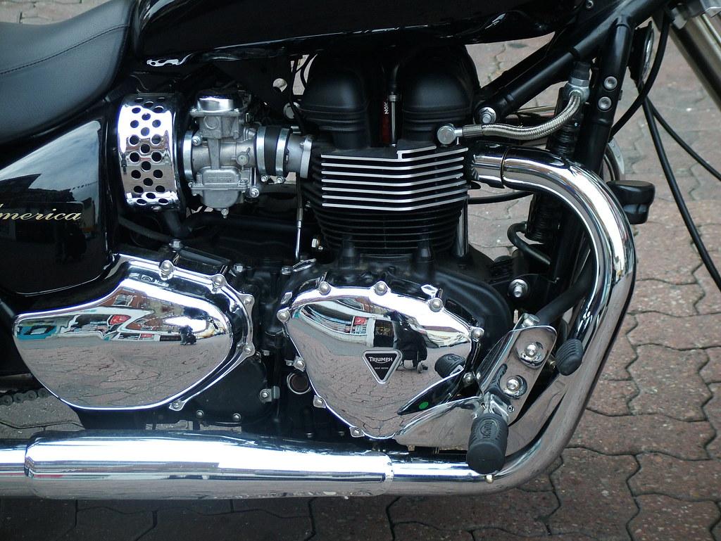 Bonneville America 865cc 2009 Triumph Bonneville America 8 Flickr