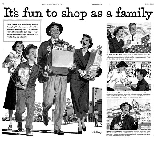 1953--shop as a family--by Bill Fleming | by x-ray delta one