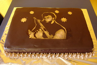 Groovy Chuck Norris Cake Fact Chuck Norris Would Never Jump Out Flickr Funny Birthday Cards Online Alyptdamsfinfo