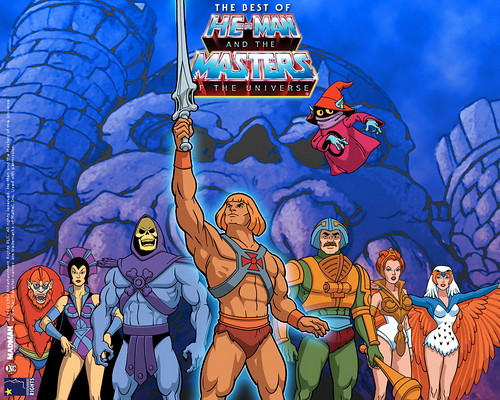 He-Man and crew from the cartoon